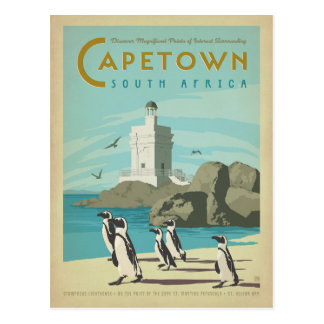 Save the Date | Cape Town, South Africa Postcard
