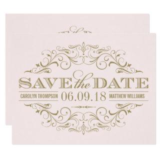 Save the Date Card | Antique Flourish