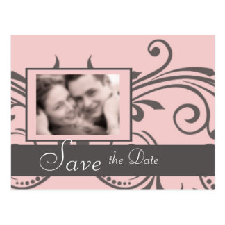 Save The Date Card Post Card