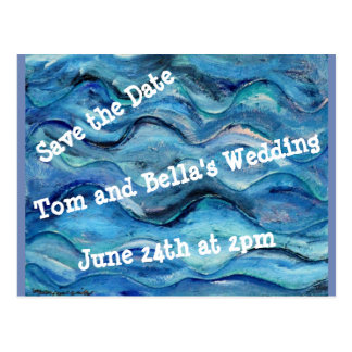 Save the Date Card Postcard