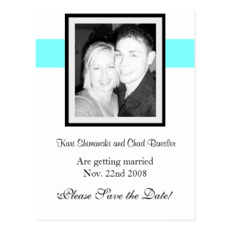 Save the date Card! Postcard