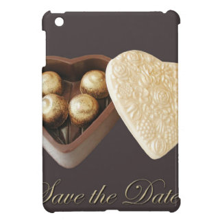 Save The Date Chocolate Hearts Cover For The iPad Mini