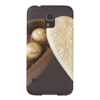 Save The Date Chocolate Hearts Galaxy S5 Cover