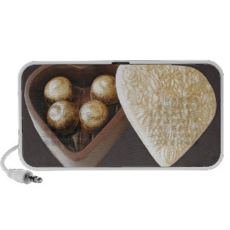 Save The Date Chocolate Hearts Portable Speaker