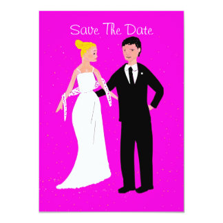 Save The Date Classical wedding stationary 11 Cm X 16 Cm Invitation Card