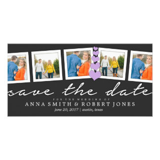 Save the Date Collage   WEDDINGS Customised Photo Card