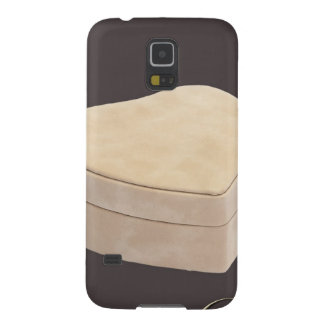 Save the Date Cream Heart Galaxy S5 Cover