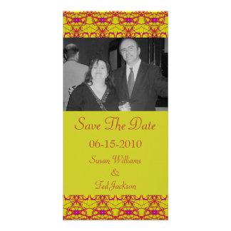 save the date custom photo card