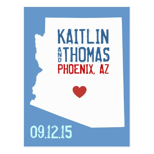 Save the Date - Customizable - Arizona Post Cards