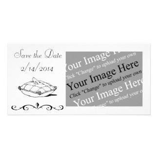 Save the Date Customizable Cinderella Photo Card
