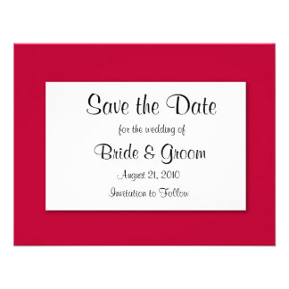 Save The Date CUSTOMIZE IT TO MAKE IT YOURS Personalized Invitation