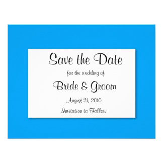 Save The Date CUSTOMIZE IT TO MAKE IT YOURS Announcement