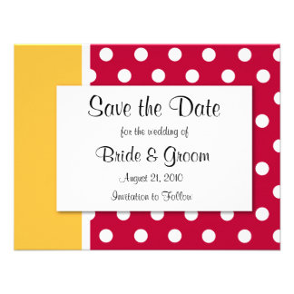 Save The Date CUSTOMIZE IT TO MAKE IT YOURS Personalized Announcements