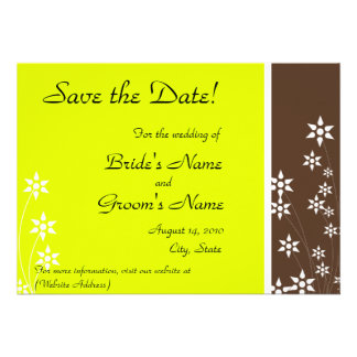 Save The Date CUSTOMIZE IT TO MAKE IT YOURS Personalized Invitations