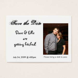 Save the Date, Dave & Ellie are g...