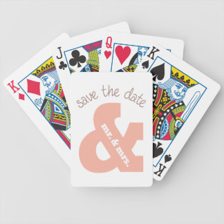 Save The Date Deck Of Cards