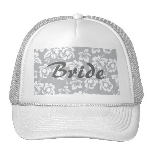 Save the Date/Fall Wedding Flowers Mesh Hats