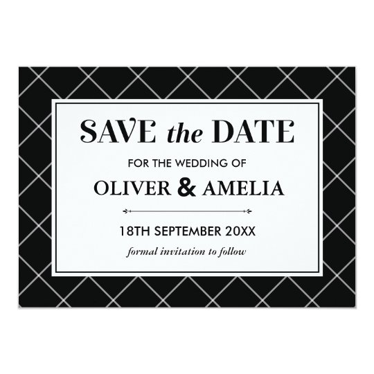 Save The Date - Flat Card