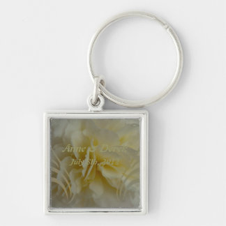 Save the Date Floral Designs Key Ring