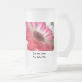 Save the Date Flower Coffee Mug