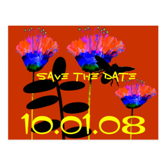 Save The Date -for any event- HoeDown, Dance Postcard