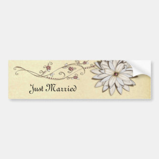 Save the Date for Special Occasion Bumper Sticker