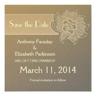 save the date informal nice invitation