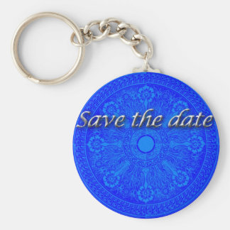 Save the Date! Keychain