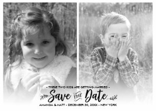 kid photo save the date gifts gift ideas zazzle uk