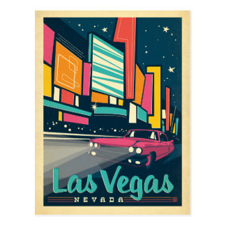 Save the Date | Las Vegas, NV Postcard