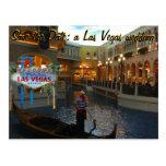 Save the Date Las Vegas Wedding Invite Postcard