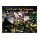 Save the Date Las Vegas Wedding Plans