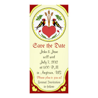Save the Date light - Long Happy Relationship Hex Personalized Announcement