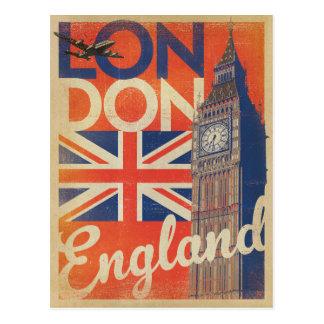 Save the Date | London, England - Flag Postcard