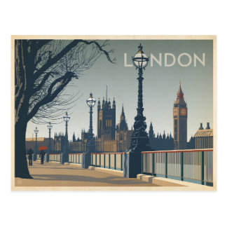 Save the Date | London Postcard