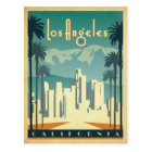 Save the Date | Los Angeles, CA 2 Postcard