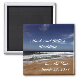 Save the Date Square Magnet