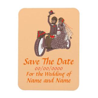Save The Date Magnet Biker / Motorcycle  weddings