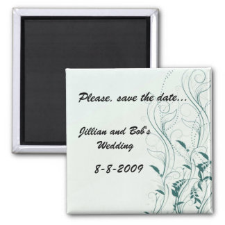 Save the date Magnet Template