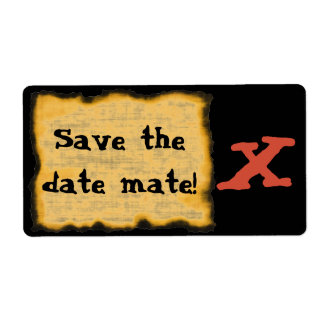 Save The Date Mate! Shipping Label