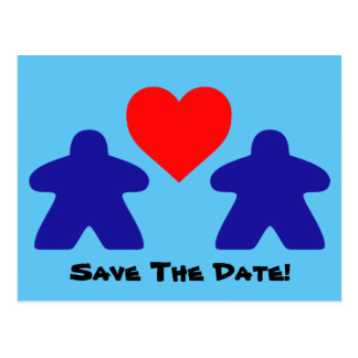 Save The Date Meeple Invitations