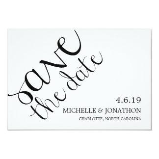 Save The Date | Mod Pen 9 Cm X 13 Cm Invitation Card