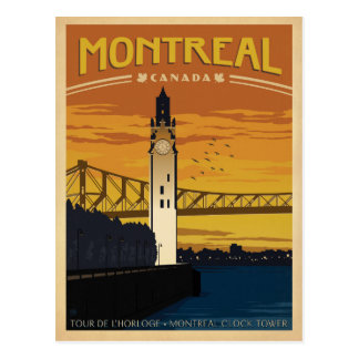 Save the Date | Montreal, Canada Postcard