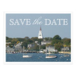 Save the Date Nantucket Wedding Tranquil Harbour Post Cards