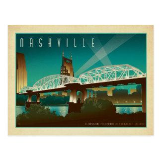 Save the Date | Nashville, TN - Shelby St. Bridge Postcard