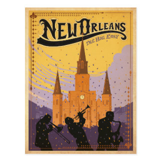 Save the Date | New Orleans, LA Postcard