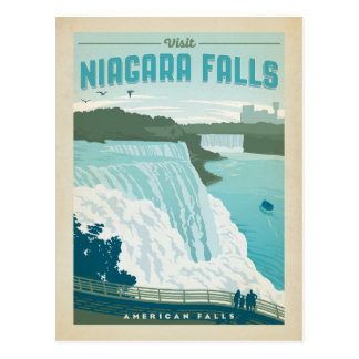 Save the Date | Niagara Falls, NY Postcard