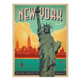 Save the Date | NYC - Lady Liberty 2 Postcard
