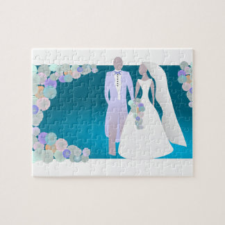 Save the Date or Wedding Print Puzzle