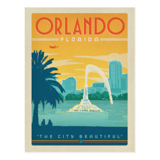 Save the Date | Orlando, FL Postcard